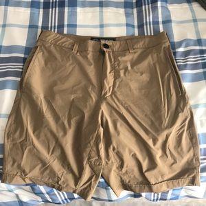 A&E DryFit Khaki Shorts